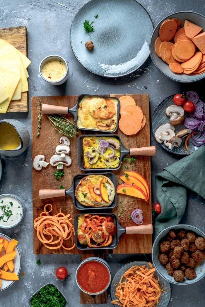Raclette im Herbst: Flammkuchen, Süßkartoffel-Gratin und mehr! ⋆ Knusperstübchen
