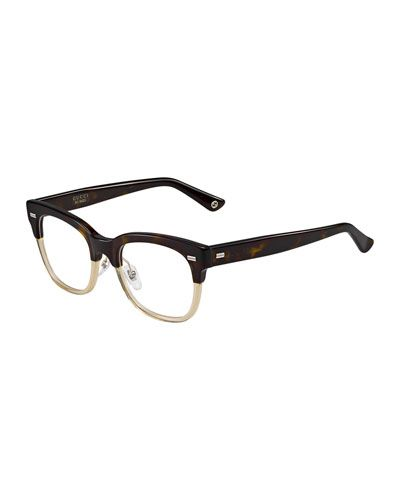 57490beb4c8 D0XAW Gucci Two-Tone Fashion Glasses
