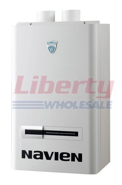 Navien CH-240 NG ASME Condensing Combination Gas Boiler & Water ...