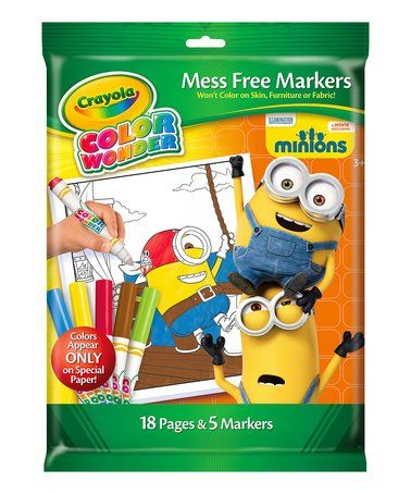 Look What I Found On Zulily Minions Color Wonder Coloring Book