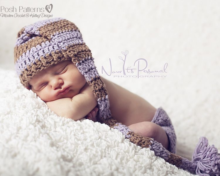 Crochet PATTERN - Crochet Stocking Hat Pattern | baby hats | Tejidos ...