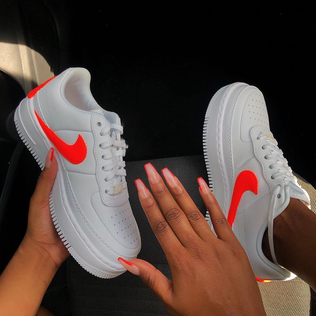 Miss Icandoboth On Instagram Nike Airforce 1 Jesters Orange Cop Or Drop Thank You Schuh A D Sneaker Sneakers Nike Shoes Air Force Nike Air Shoes Nike sf af1 mid qs green/orange trainers shoes uk5.5 us6y eur38.5 aa7345 300. pinterest