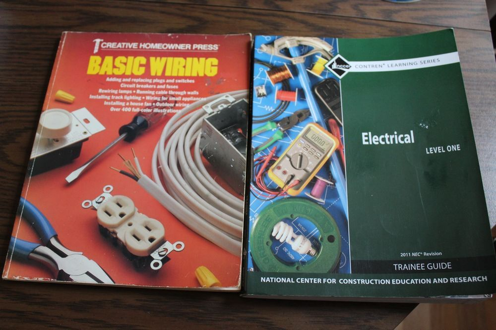 Electrical Level 1 By Nccer 2011 Paperback Revised Bonus Basic Wiring Textbook Paperbacks Basic Electricity