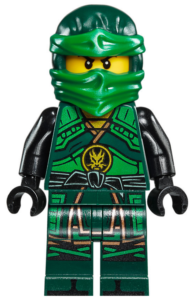 Ninjago Coloring Pages Green Ninja Tecno