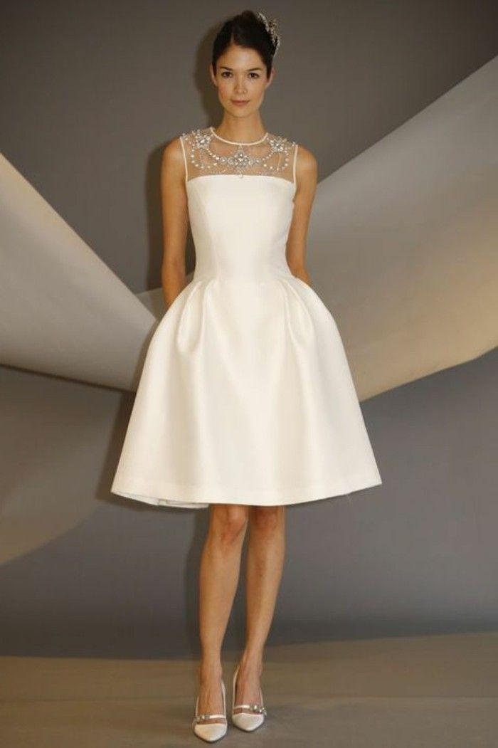 096673c3a5 ▷ 1001+ ideas de vestidos de novia cortos y elegantes