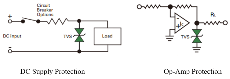 TVS Diode Application | Diodes, Power electronics, Tvs