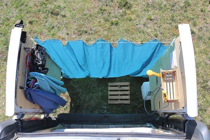 Photo of Van dusche. Wie die Vorstellung, dass es an den Hintertüren angebracht werden k…