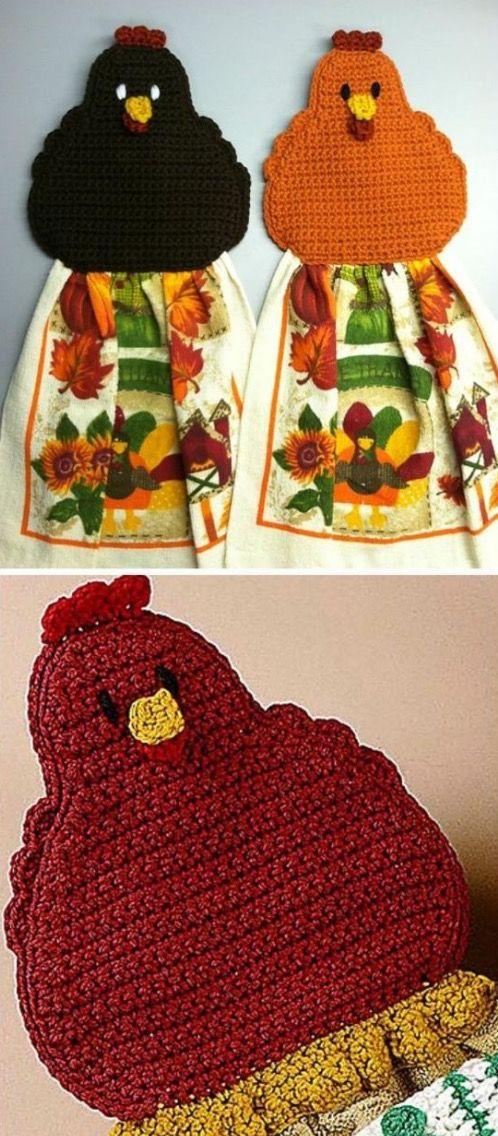 Vintage Crochet Chicken Patterns The Cutest Collection | Videos ...