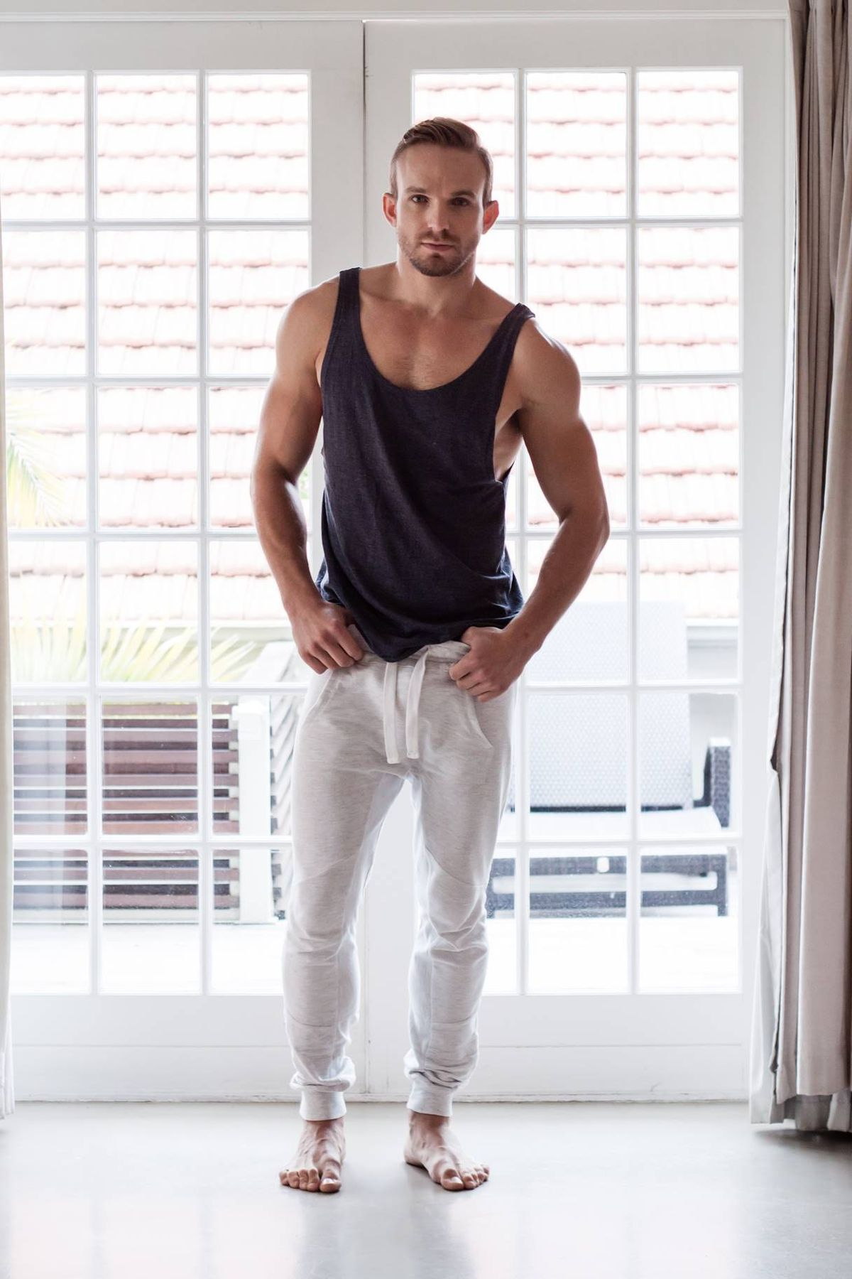 35f39f0e173f0 20 Sexy And Comfy Men Workout Outfits - Styleoholic. #johnnystaycool Gym  Wear, Workout Clothes For Men, Mens Fashion Wear, Fashion Fashion