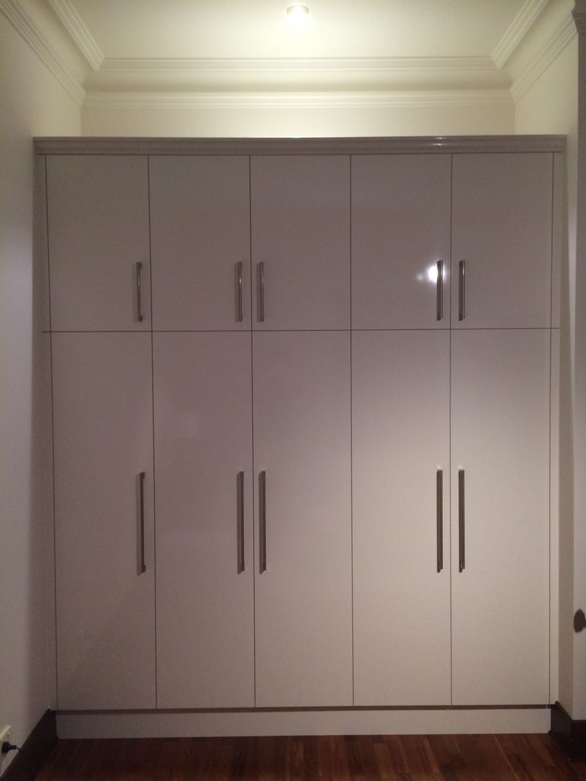 Bedroom Wardrobe Doors Laminex Parchment Silk Finish