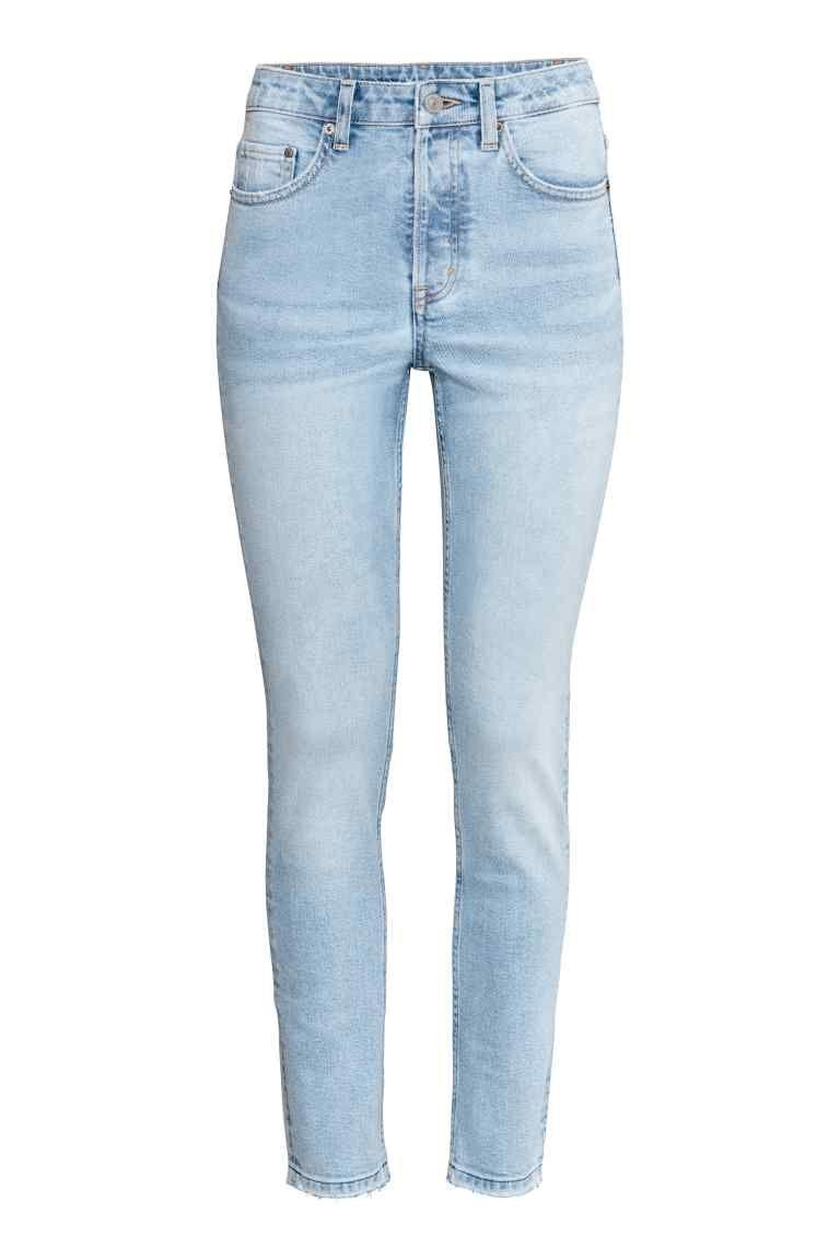 grande descuento venta colores armoniosos super popular Skinny High Ankle Jeans | jeans ♤ en 2019 | Jeans azul ...