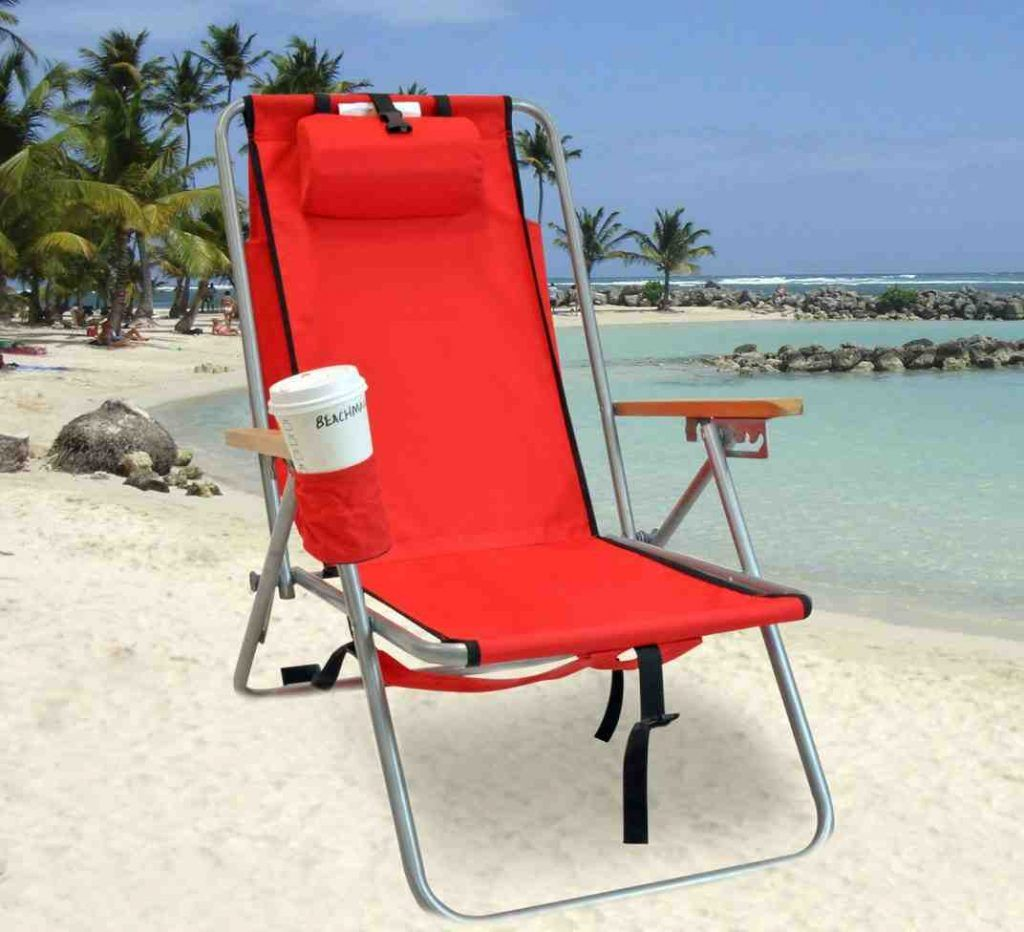Wearever Backpack Beach Chair