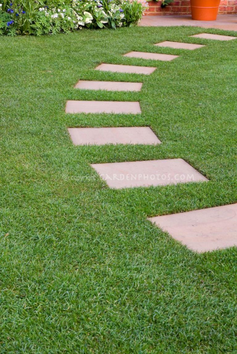 Gorgeous Stepping Stones Design Ideas Garden Stepping Stones Stepping Stone Paths Stepping Stone Pathway