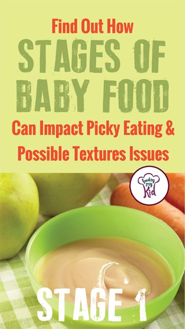 Differences In Baby Food Stages And Puree Texture Making Isaiahs