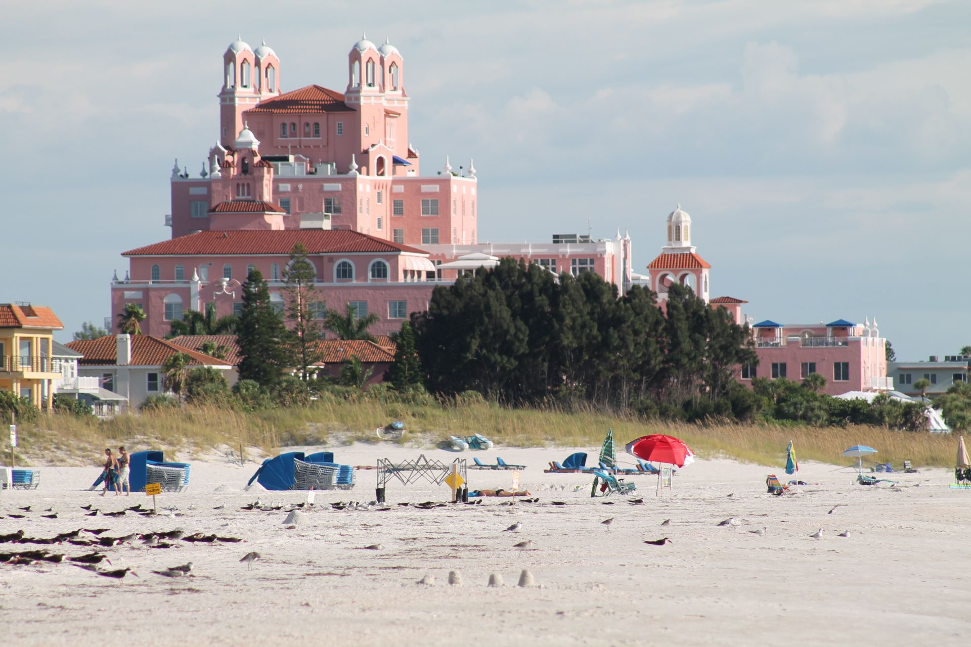 The Pink Palace Lowes Don Cesar Hotel Beach Resorts Florida Es