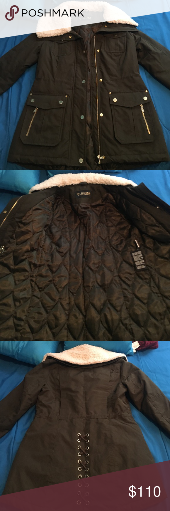 Guess winter jacket XS/S Great condition winter jacket haven't worn because of the wrong SZ Guess Jackets & Coats