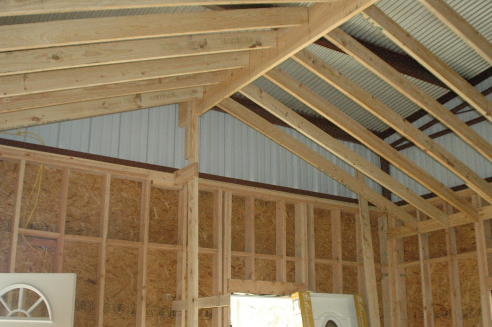 42 barndominium ceilings metal building homes texas