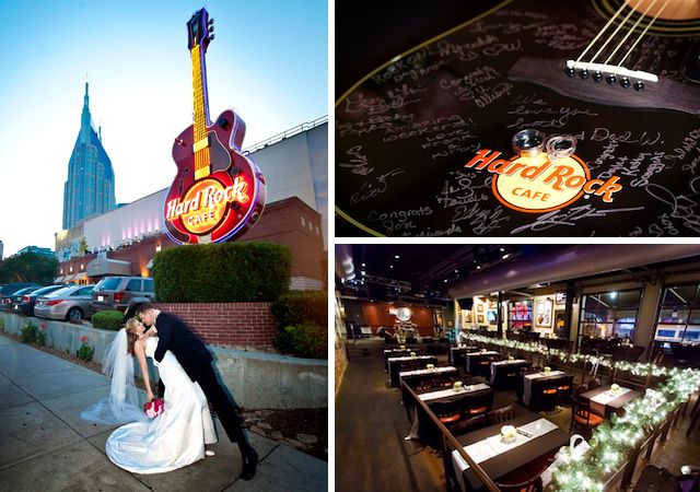 Hard Rock Cafe Nashville Nashvlle Wedding Venues Downtown Private Event