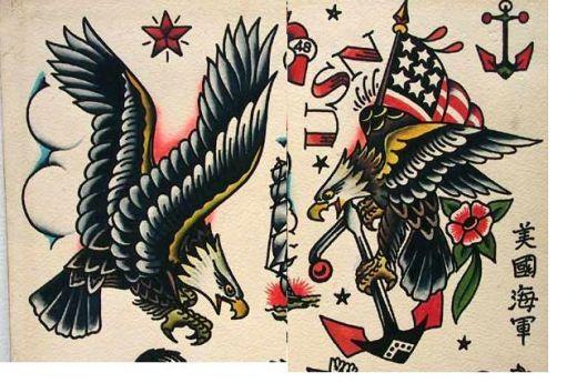Vintage eagles