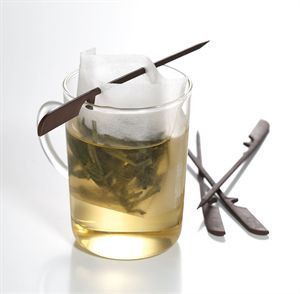 Paper Tea Filter box with stick