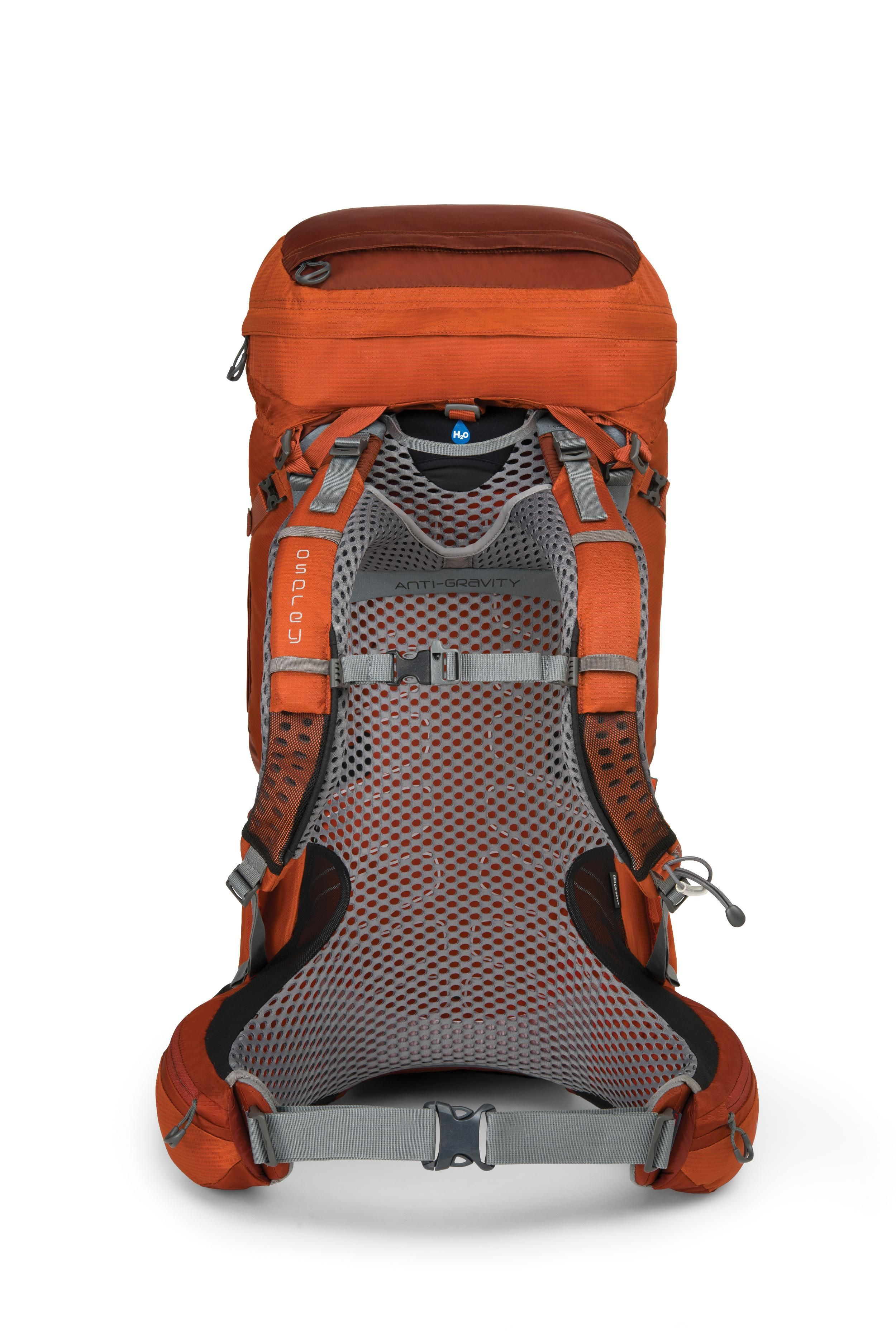 Starting with a dreamlike Osprey suspension, this multiday pack carries gear easily in 9 external pockets, enhancing mobility and comfort while toting heavier loads through the backcountry.