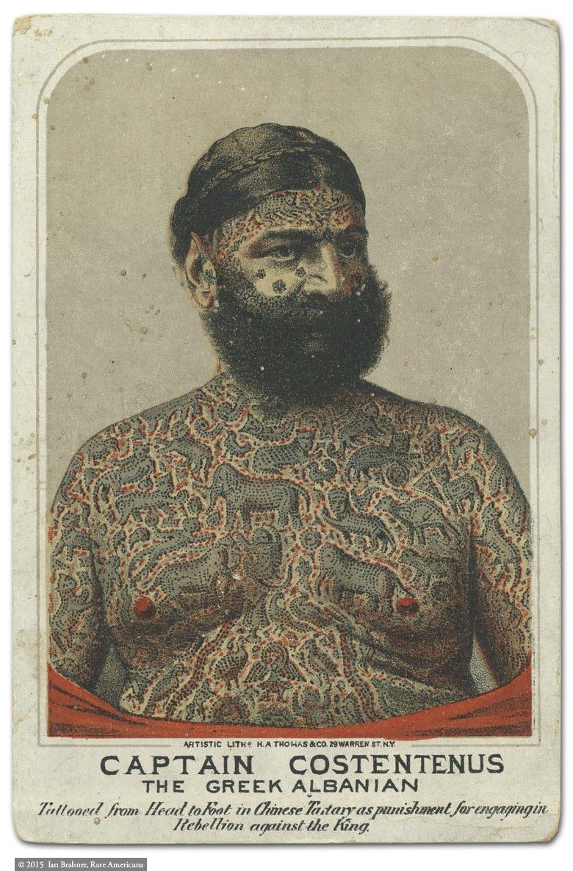 Tattoo You Captain Costentenus