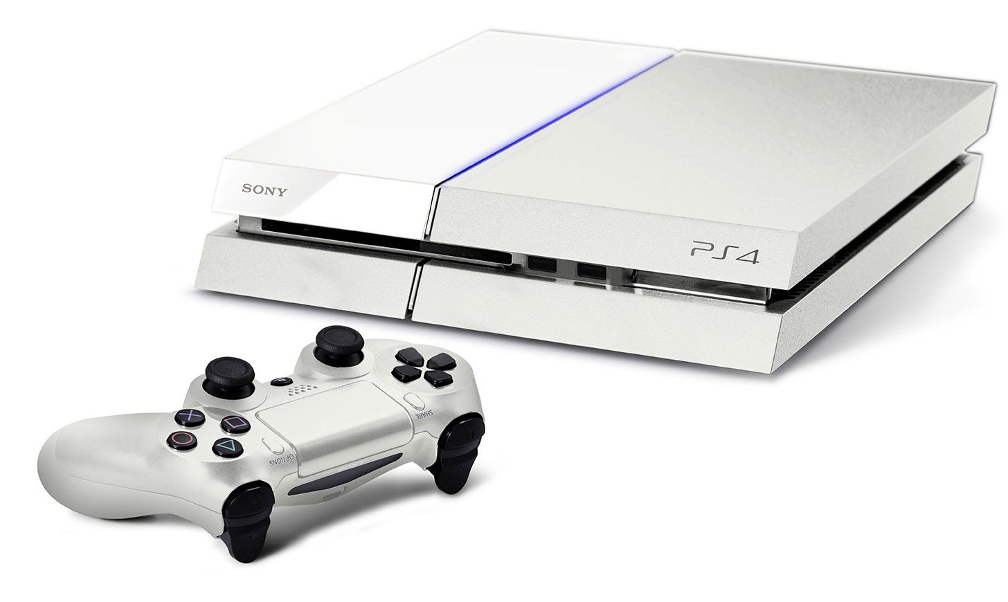 Ps4 White Playstation 4 Console Ps4 White Playstation 4 How to read videos on ps4