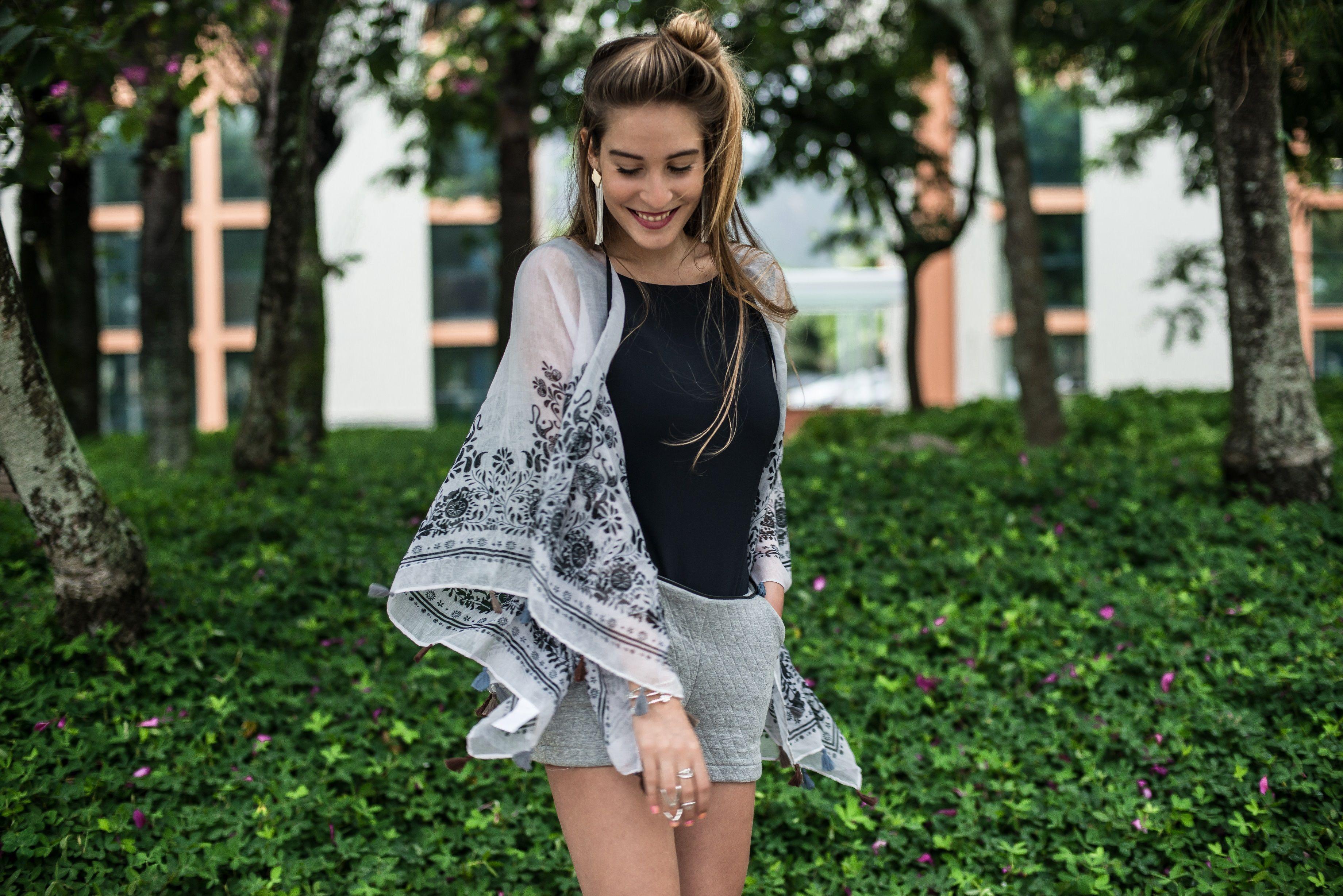 Kimono Lenço!