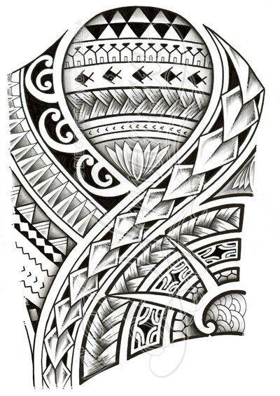 48 Coolest Polynesian Tattoo Designs Tatouages Polynesiens
