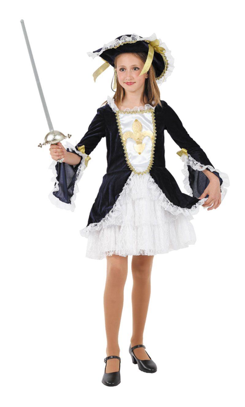 Disfraz de mosquetera para ni a disfraces para ni as - Disfraces navidenos para ninas ...