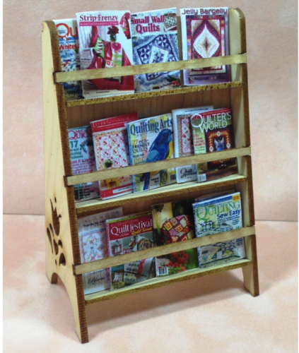 Maple Dollhouse Miniature Crafter/'s Desk Kit 1:12 Scale