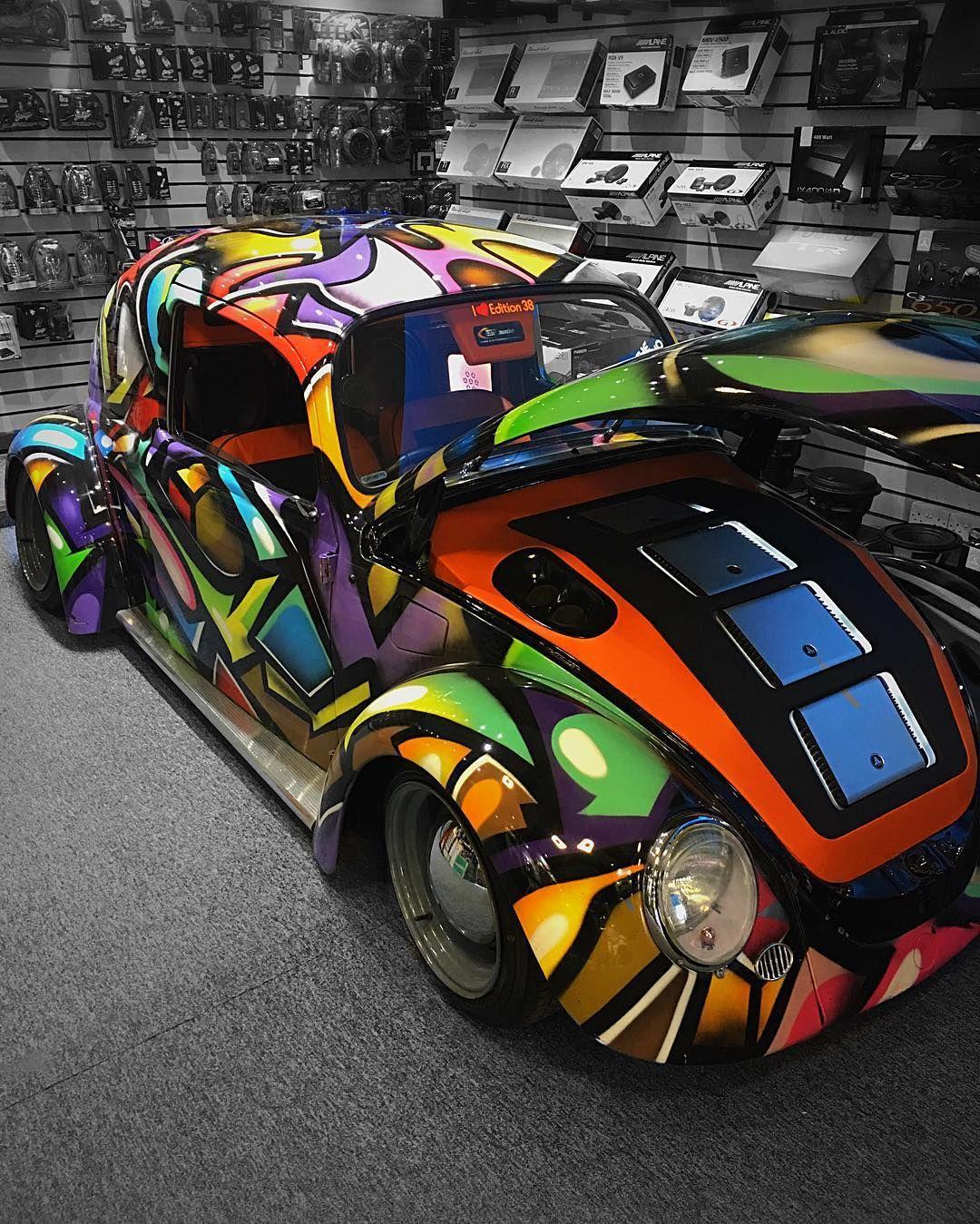 Beetle inside beetle vw oxford car audio edition 38