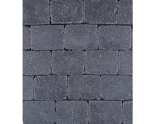 EXCLUTON Abbeystone getrommeld zwart 20 x 30 x 6 cm