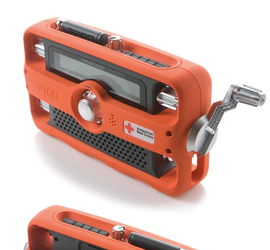 Eton fr1000 emergency portable radio by whipsaw inc for Produktdesign mainz
