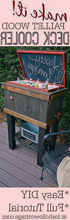 DIY Pallet Wood Deck Cooler! The Home Depot @scotchblue# ...