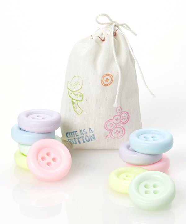 I love this! Button Soap Set
