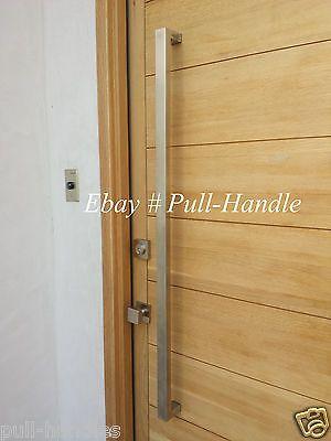 Modern Premium Door Handles Pull Push Stainless Steel Entrance Gate ...