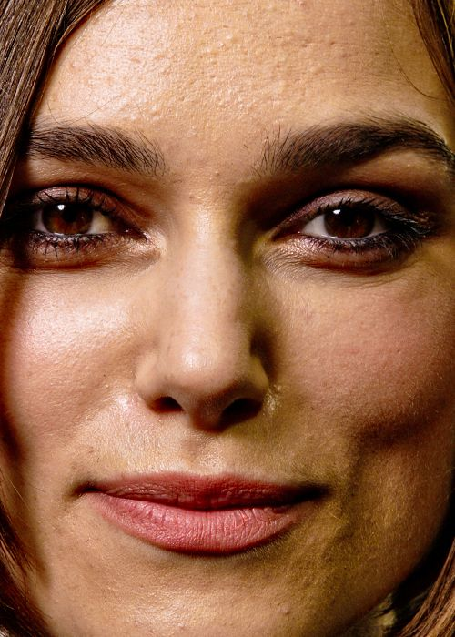 Keira Knightley without professional make up or photoshop