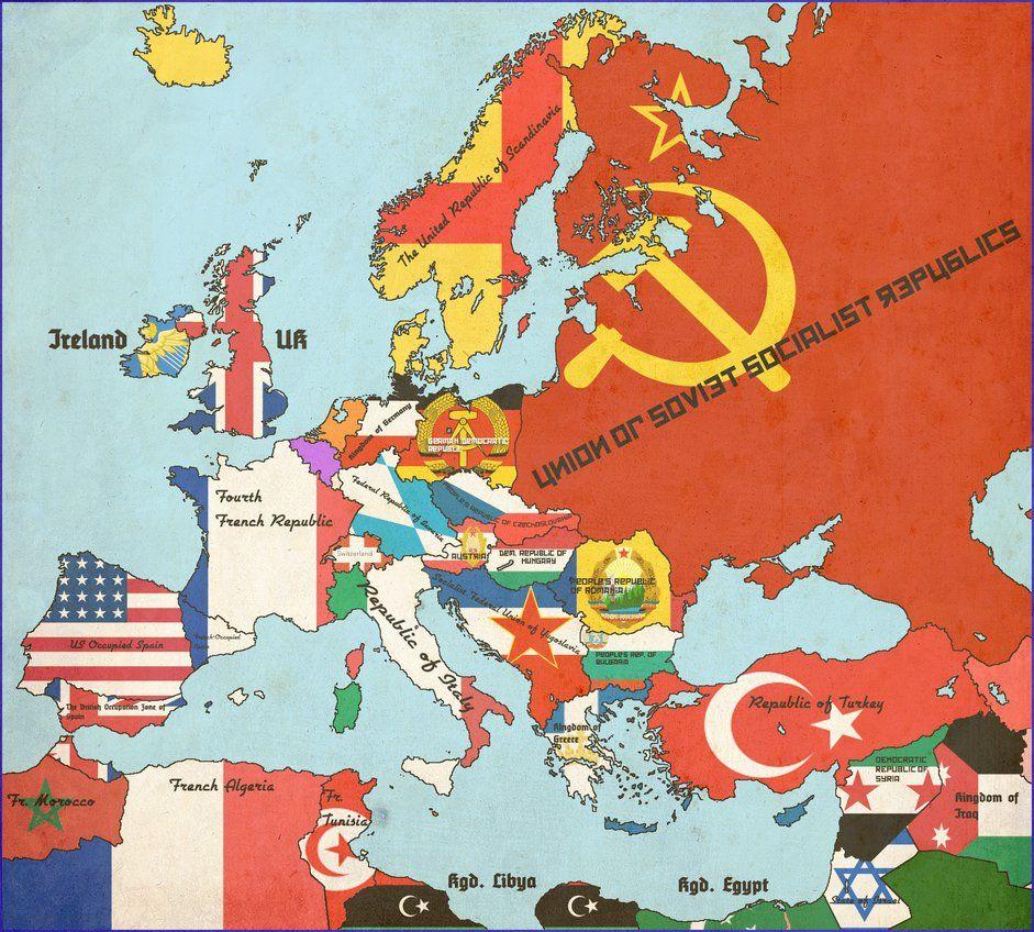 Europe, 1950 [alt history][partner to Yalta, 1946] by Animadefensor on ukraine on map of europe, vilnius on map of europe, black sea on map of europe, sea of azov on map of europe, dardanelles on map of europe, kiev on map of europe, kaliningrad on map of europe,