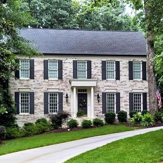 Colonial Home Design Ideas: Months Later, This Home Boasts Massive Curb Appeal After