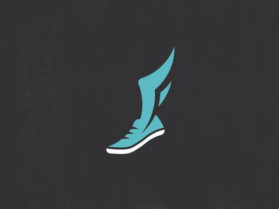 f wing track shoe   logos, modern logo design and modern logo