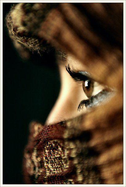 Os olhos mais bonitos do mundo são os das árabes