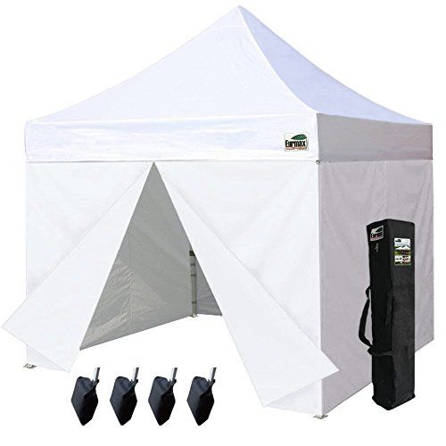 Eurmax 10 X 10 Pop Up Canopy Commercial Tent Outdoor Part With Images Tent Pop Up Canopy Tent Canopy Frame