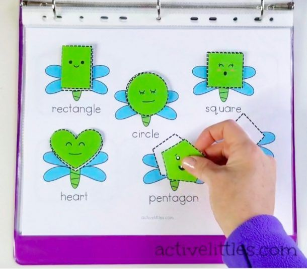 Bugs Interactive Activity Learning Binder For Preschoolers