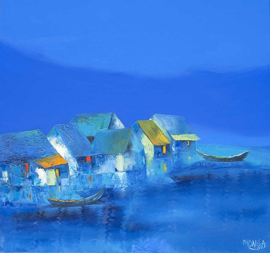 Dao Hai Phong, 1965 | Landscape painter | Tutt'Art@ | Pittura * Scultura * Poesia * Musica |