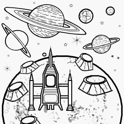 Free Super Printable Moon Coloring And Crafts For Kids Astronomy