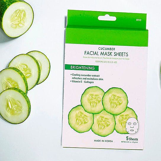 Photo of New Cucumber Facial Mask Revitalized Skin In 15 Minutes For All Skin Types