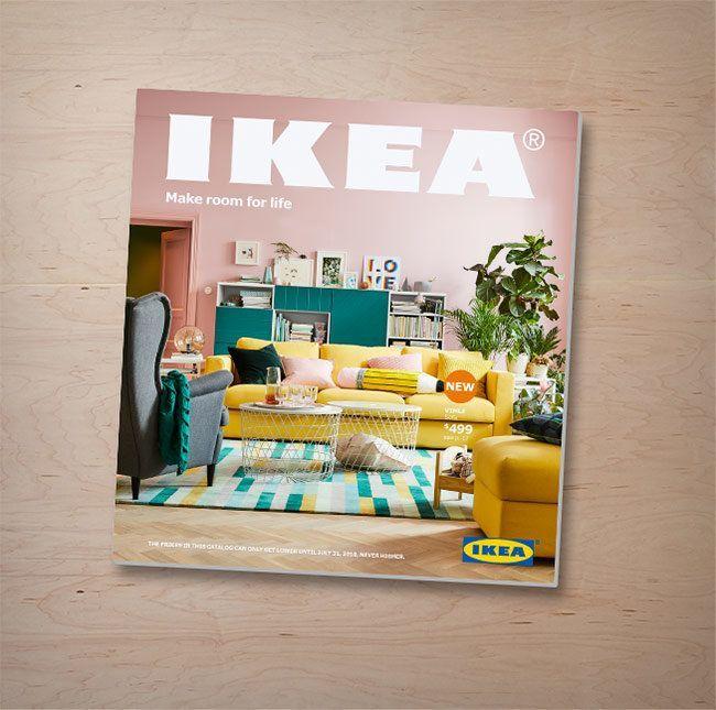 der neue ikea katalog 2019 in 2018 ikea pinterest verteilt der deutsche und neuheiten. Black Bedroom Furniture Sets. Home Design Ideas