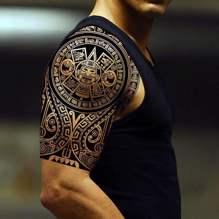 tatouage d'une épaulette inca | art - tatouage | tatouage, tatouage
