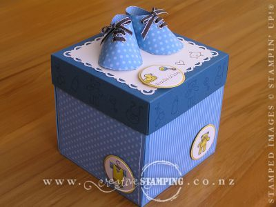 1000 images about explosion boxes – Baby Announcement Boxes